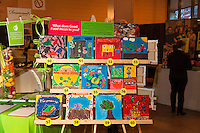 Student artwork in the Silent Auction at FoodShare Toronto's Recipe for Change, February 28,  2013