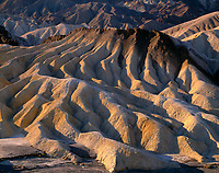 CADDV_013 - Eroded mudstone forms patterns of hills and valleys, early morning view south from Zabriskie Point, Death Valley National Park, California, USA --- (4x5 inch original, File size: 7601x6000, 130mb uncompressed).