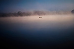 Fog on Hoover Reservoir - iWesterville