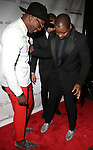 "Amos Winbush III and Ted Gibson CHECK OUT EACH OTHER'S SHOE GAME AT RENOWNED HAIR STYLIST TO THE STARS TED GIBSON HOSTS 50TH BIRTHDAY EVENT WITH THE HELP OF ""GIBSON GIRLS"" ACTRESSES ASHLEY GREEN, KATE WALSH AND DEBRA MESSING HELD AT THE KNICKERBOCKER ROOFTOP"