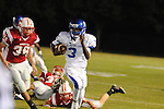 Water Valley's T.T. Person (3) runs vs. South Pontotoc in Pontotoc, Miss. on Friday, October 7, 2011. Water Valley won 49-7.