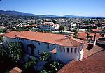 Courthouse in Santa Barbara