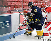 Jillian Kirchner (BU - 18), ?, Lindsay Hoogstraten (Windsor - 23) - The Boston University Terriers defeated the visiting University of Windsor Lancers 4-1 in a Saturday afternoon, September 25, 2010, exhibition game at Walter Brown Arena in Boston, MA.