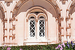 Window of the Bussaco Hotel and Palace in Portugal.