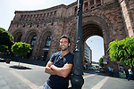 St Johnstone UEFA Cup Qualifyer, Armenia...01.07.15<br /> Simon Lappin pictured in the Armenian capital Yerevan ahead of tomorrow nights game against Alashkert FC.<br /> Picture by Graeme Hart.<br /> Copyright Perthshire Picture Agency<br /> Tel: 01738 623350  Mobile: 07990 594431