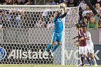 CARSON, California - September 14, 2012: The LA Galaxy defeated the Colorado Rapids 2-0 during a Major League Soccer (MLS) game at Home Depot Center stadium.
