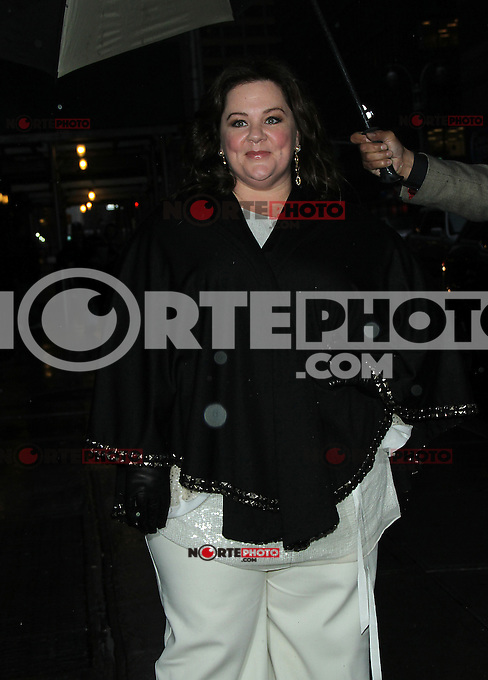 NEW YORK, NY - JANUARY 28: Melissa McCarthy at Late Show with David Letterman in New York City. January 28, 2013. Credit: RW/MediaPunch Inc. /NortePhoto /NortePhoto