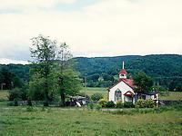 VERMONT SCENES<br /> Village Church