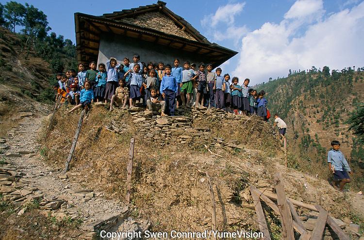 A School in Rolpa District, Nepal