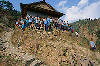 A School in Rolpa District, Nepal