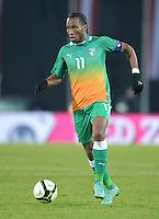 Fussball International  Freundschaftsspiel   14.11.2012 Oesterreich - Elfenbeinkueste Didier Drogba (Elfenbeinkueste)