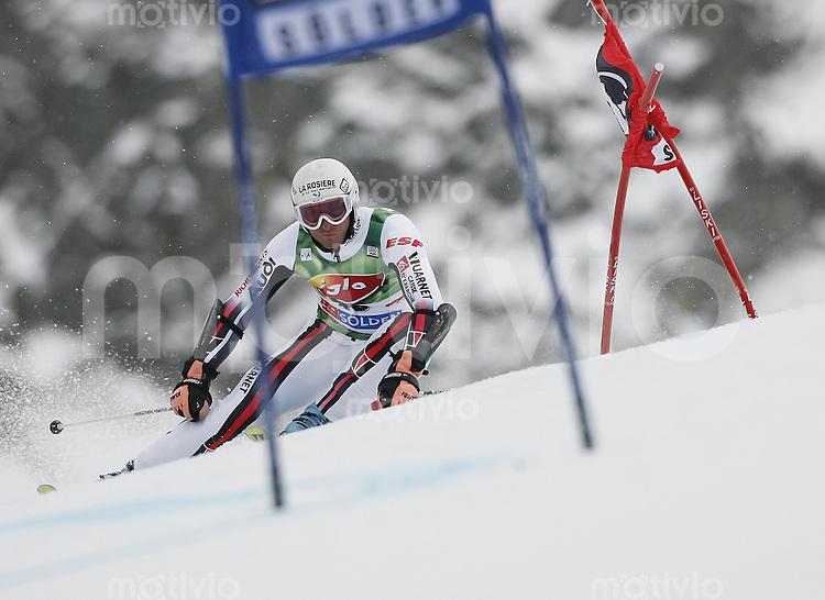 Ski Alpin Weltcup  Saisonauftakt in Soelden , AUT Riesenslalom Herren 28.10.07 CHENAL,  Joel  (FRA)