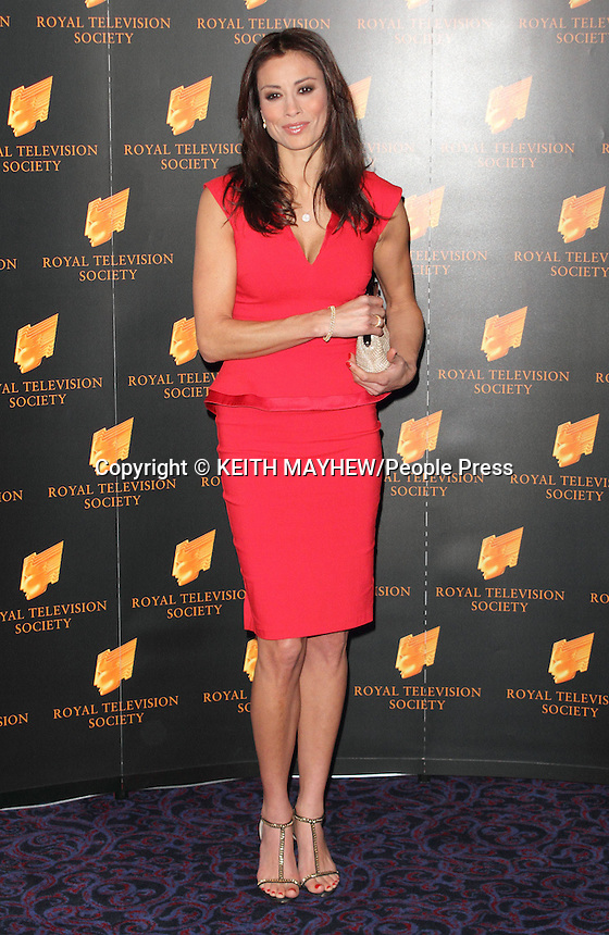 RTS Programme Awards 2013 at the Grosvenor, Park Lane, London - March 19th 2013..Photo by Keith Mayhew.