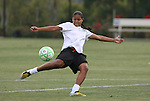 21 August 2009: Francielle (BRA). Sky Blue FC held a training session at the Home Depot Center in Carson, California one day before playing Los Angeles Sol in the inaugural Women's Professional Soccer Championship Game.