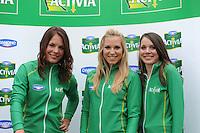 SCHAATSEN: MAARSSEN: InnStyle, 25-10-2012, Perspresentatie Team Activia, Diane Valkenburg, Annette Gerritsen, Laurine van Riessen, ©foto Martin de Jong