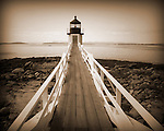 Lighthouse at Port Clyde, Maine.