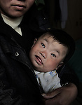 In recent years Zhangyuzhuang village has had an increase in birth defects. Of the 17 children born in 2008 two were born mentally and physically handicapped, Xiping county, Henan province, April 3, 2009