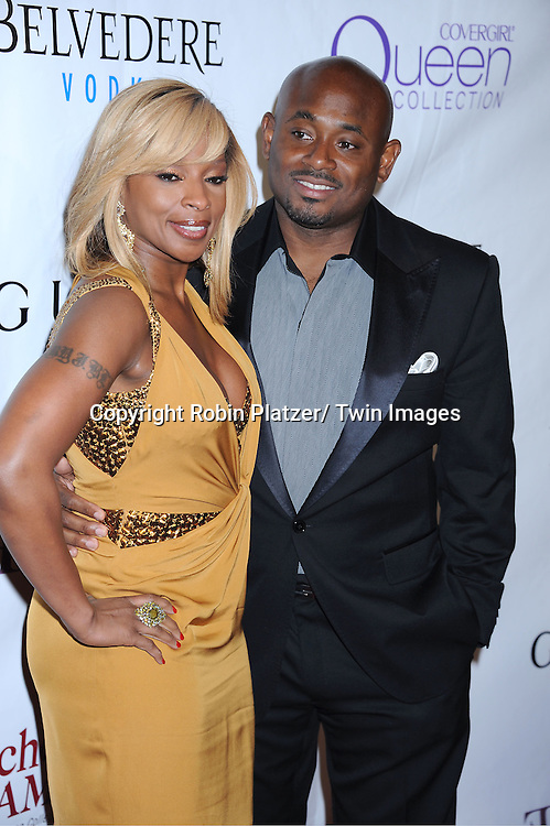 Mary J Blige and Steven Stoute attending The 2nd Annual Mary J Blige Honors Concert to Benefit FFAWN's Scholarship Fund hosted by Mary J Blige and Robbie Myers on May 1, 2011 at Hammerstein Ballroom in New York City.