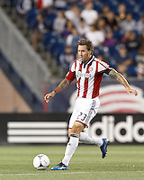 Chivas USA defender Danny Califf (23) looks to pass. In a Major League Soccer (MLS) match, the New England Revolution tied Chivas USA, 3-3, at Gillette Stadium on August 29, 2012.