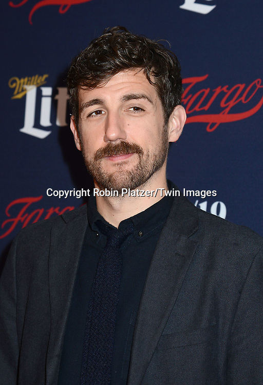 Carter Hudson attends FX's 2017 All-Star Upfront on  April 6, 2017 at SVA Theater in New York, New York, USA. <br /> <br /> photo by Robin Platzer/Twin Images<br />  <br /> phone number 212-935-0770