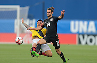 Frisco, TX. - May 25, 2016: The USMNT and Ecuador are all even 0-0 at half time in an international friendly match at Toyota Stadium.