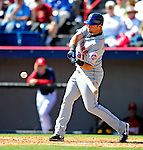 6 March 2010: New York Mets' outfielder Kirk Nieuwenhuis in action during a Spring Training game against the Washington Nationals at Space Coast Stadium in Viera, Florida. The Mets defeated the Nationals 14-6 in Grapefruit League action. Mandatory Credit: Ed Wolfstein Photo