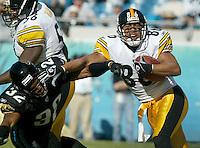2002 Jax Jags vs. Pittsburgh Steelers, December 1