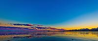 Hampton Beach, New Hampshire; Sunset over Hampton Beach