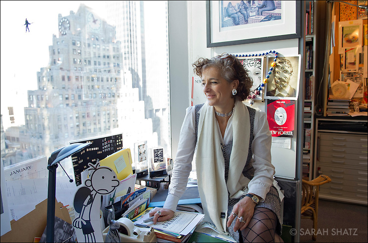 Françoise Mouly, Art Editor, The New Yorker Magazine