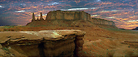 Monument Valley, Arizona, Indian, Tribal Park, Historic site, Desert, Dry, Arid, Beautiful CGI Backgrounds, ,Beautiful Background