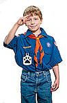 Cub scout salute photo
