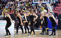 Basketball  1. Bundesliga  2016/2017  Hauptrunde  16. Spieltag  27.12.2016 Walter Tigers Tuebingen - MHP Riesen Ludwigsburg Tigers Cheerleaders