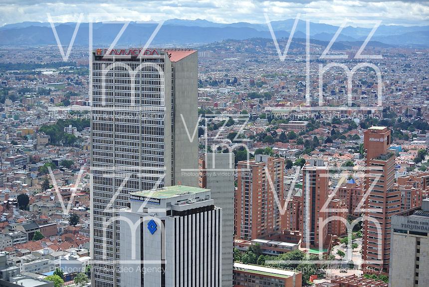 BOGOTÁ -COLOMBIA. Aspecto del centro de la ciudad de Bogotá, Colombia./ Aspect of  downtown Bogota, Colombia. Photo: VizzorImage/ Str