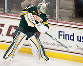 Brody Hoffman (UVM - 37) - The Boston College Eagles defeated the University of Vermont Catamounts 4-1 on Friday, February 1, 2013, at Kelley Rink in Conte Forum in Chestnut Hill, Massachusetts.