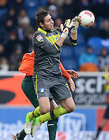 FUSSBALL   1. BUNDESLIGA  SAISON 2012/2013   15. Spieltag TSG 1899 Hoffenheim - SV Werder Bremen    02.12.2012 Torwart Koen Casteels (TSG 1899 Hoffenheim)