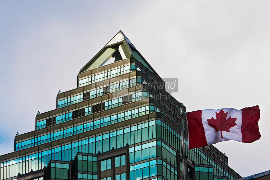 Amérique/Amérique du Nord/Canada/Québec/Montréal: Le 1501 avenue McGill College, aussi appelé La Tour McGill, est un gratte-ciel de Montréal. Il mesure 158 mètres de haut et compte 36 étages, ce qui fait de lui le 7e plus haut gratte-ciel de la ville