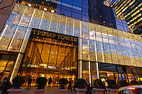 Trump Tower, Christmas, Manhattan, New York City, New York, USA