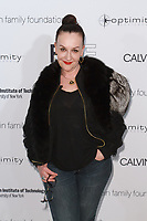 Designer Sophie Theallet arrives at the Future of Fashion 2017 runway show at the Fashion Institute of Technology on May 8, 2017.