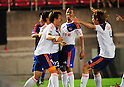 Albirex Niigata team group,..JULY 10, 2011 - Football :..Cho Young-Cheol (L) of Albirex Niigata celebrates with his teammates after scoring their second goal during the  2011 J.League Division 1 match between Kashima Antlers 1-2 Albirex Niigata at Kashima Soccer Stadium in Ibaraki, Japan. (Photo by AFLO)