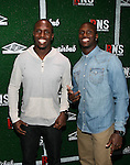 "NFL Player McCourty Twins  Attends Airbnb & Roc Nation Sports ""Roc Nation Sports Celebration"" Held at The 40/40 Club NY"