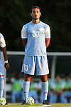28 August 2015: North Carolina's Raby George (SWE). The University of North Carolina Tar Heels hosted the Florida International University Panthers at Fetzer Field in Chapel Hill, NC in a 2015 NCAA Division I Men's Soccer match. North Carolina won the game 1-0