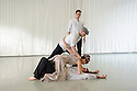 Dancers from Yorke Dance Project rehearse Sir Kenneth MacMillan's rarely-performed work, Sea of Troubles, originally created for Dance Advance, an ensemble of former Royal Ballet dancers, in 1988. Yorke Dance Project will tour the work in autumn 2016. Dancers are: Kieran Stoneley, Amy Thake, Phil Sanger, Hannah Windows, Edd Mitton, Freya Jeffs.