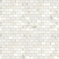 Name: Running Bond 3cm x 5cm<br /> Style: Classic<br /> Product Number: NRFRNBD3X5-1<br /> Description: 24&quot;x 24&quot; Running Bond 3x5 cm in Calacatta Tia (p).