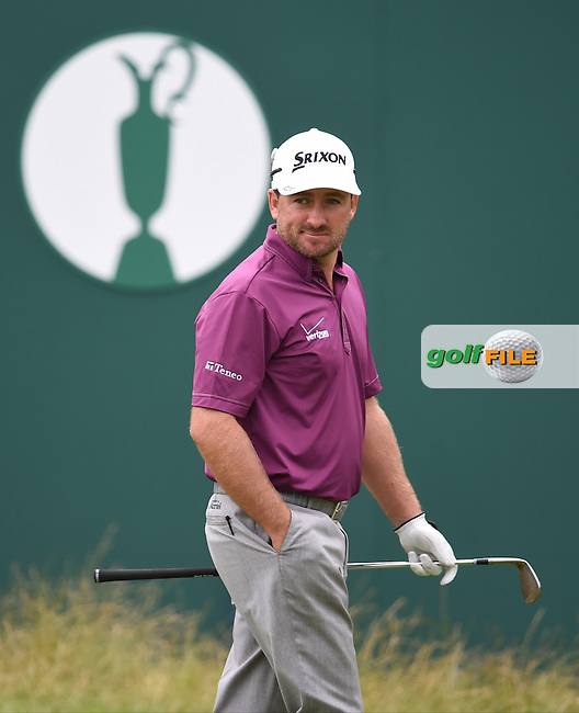 Graeme McDowell (NIR) during a practice round ahead of The 143th Open championship Royal Liverpool Golf club, Hoylake, England.<br /> Picture: Fran Caffrey www.golffile.ie
