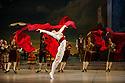 London, UK. 30.03.2013. The Mikhailovsky Ballet present DON QUIXOTE at the London Coliseum. Picture shows: Evgeny Deryabin (Espada). © Jane Hobson.
