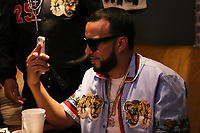 "New York, NY - March 8, 2017 French Montana on the set of the ""Dipped In Coke"" video shoot at the Jue Lan Club, March 8, 2017 in New York City. Photo Credit: Walik Goshorn/Mediapunch"
