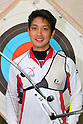 Yu Ishizu (JPN), .April 22, 2012 - Archery : .Archery Japan National Team Selection match for The World Cup Ogden 2012 .at JISS Archery Field, Tokyo, Japan. .(Photo by Daiju Kitamura/AFLO SPORT) [1045]
