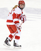Lauren Cherewyk (BU - 7) - The Northeastern University Huskies tied Boston University Terriers 3-3 in the 2011 Beanpot consolation game on Tuesday, February 15, 2011, at Conte Forum in Chestnut Hill, Massachusetts.