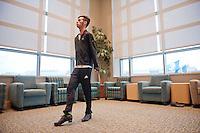 20111110 Zach Warshaw practices Irish Dance Steps