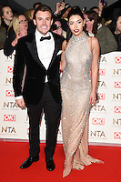 Cara de la Hoyde &amp; Nathan Massey at the National TV Awards 2017 held at the O2 Arena, Greenwich, London. <br /> 25th January  2017<br /> Picture: Steve Vas/Featureflash/SilverHub 0208 004 5359 sales@silverhubmedia.com
